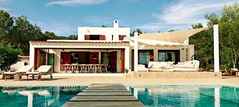 Villa Exterior at Casa Del Jondal, Ibiza, Spain