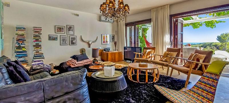 Interior at Casa Del Jondal
