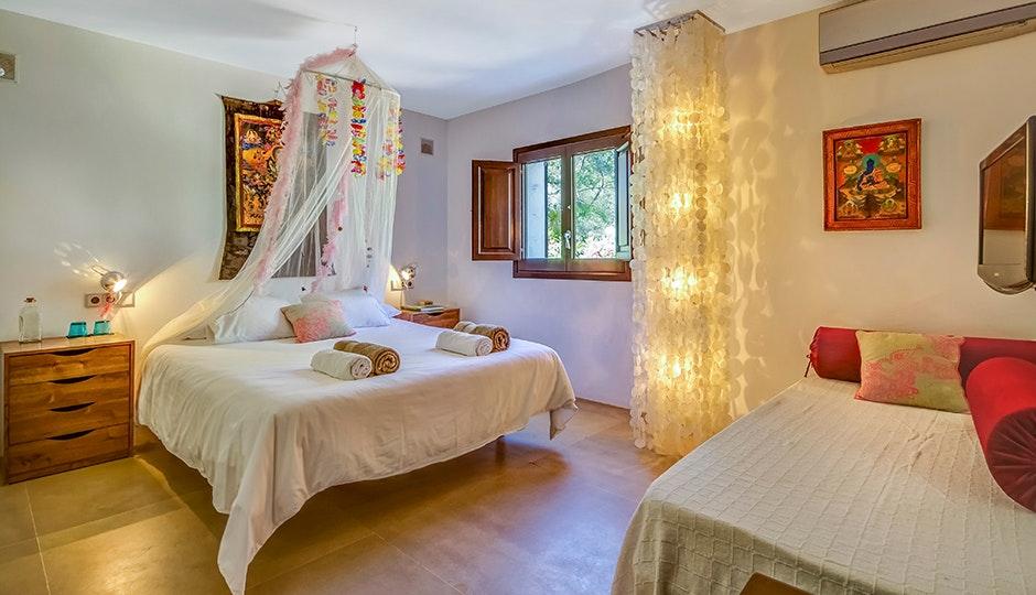 Superb Bedroom At Casa Del Jondal, Ibiza, Spain
