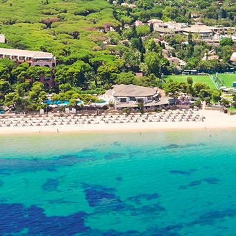 Ariel view of Forte Village