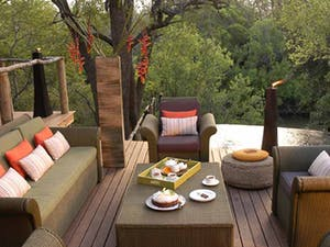 Relaxing Balcony at Morukuru Lodge Madikwe Game Reserve