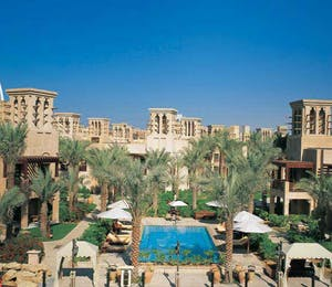 Outside Shot of Madinat Jumeirah