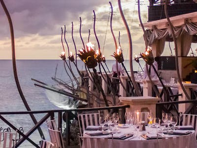 The perfect romantic meal at The Cliff, Barbados
