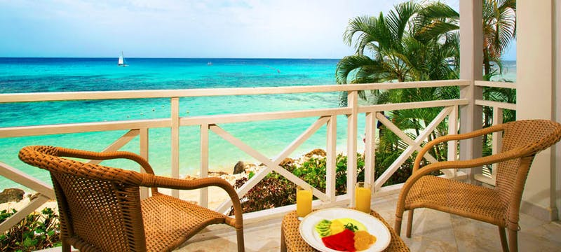 Balcony view at The Club Barbados Resort & Spa, Barbados