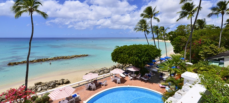 Sea View and Pool at Cobblers Cove, Barbados