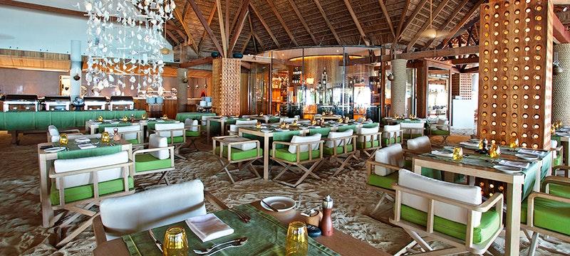 Manta Restaurant at Constance Moofushi, Maldives