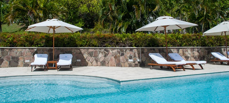 Pool Area at Cotton House, St Vincent & The Grenadines