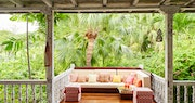 Terrace at Cotton House, St Vincent & The Grenadines