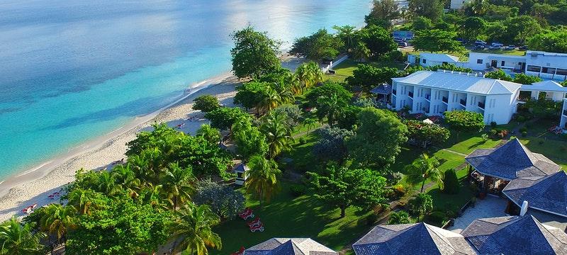 Aerial View at Coyaba Beach Resort