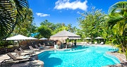 Pool Area at East Winds, St Lucia