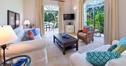 Living Area at Eden Villa, Sugar Hill Barbados