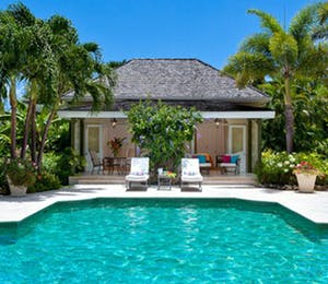 Pool Area at Eden Villa, Sugar Hill Barbados