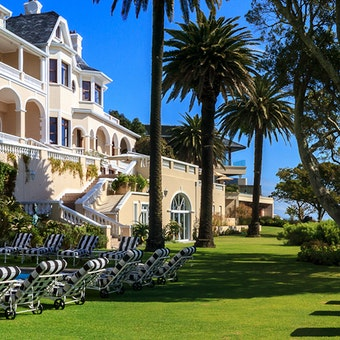 Pool and Property Veiw at Ellerman House, Cape Town