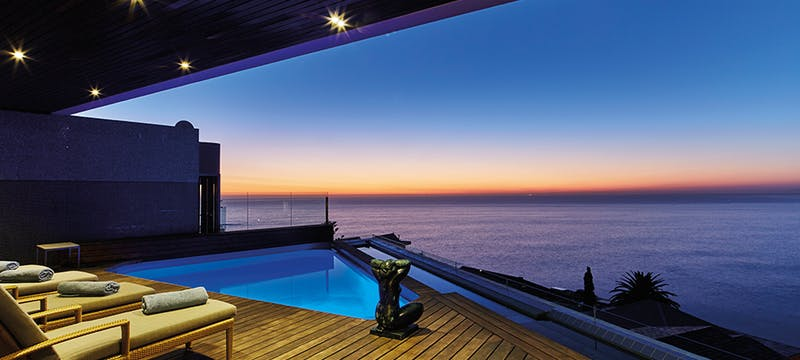 Terrace Pool at Ellerman House, Cape Town