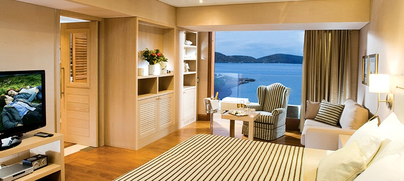 Deluxe Hotel Suite with Sea View at Elounda Bay Palace