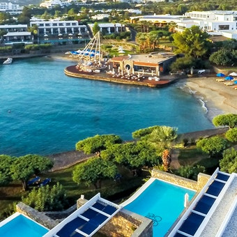 Panoramic View at Elounda Bay Palace