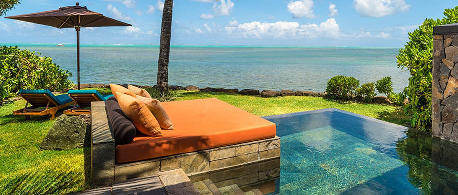 Ocean View Suite at Four Seasons Resort Mauritius at Anahita