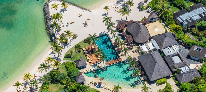 Resort Overview at Four Seasons Resort Mauritius at Anahita