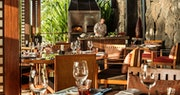 Restaurant at Four Seasons Resort Mauritius at Anahita