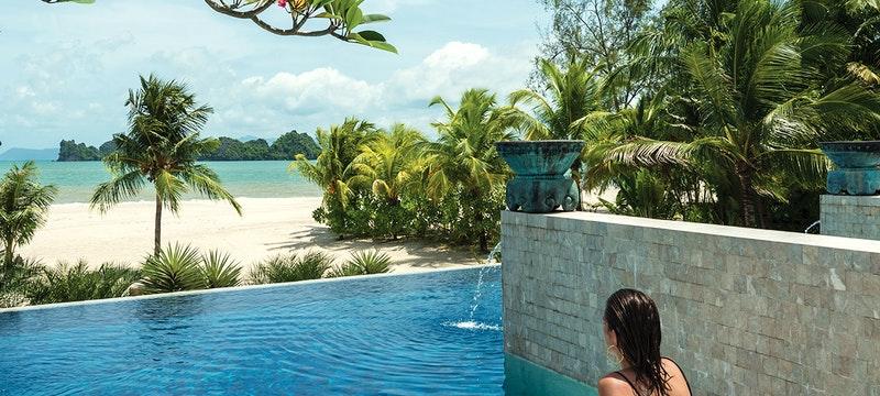 Pool at Four Seasons Resort Langkawi