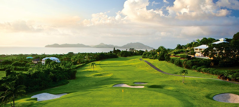 Golf Course View at Four Seasons Nevis