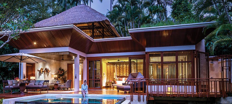 Villa Exterior at Four Seasons Resort Bali at Sayan