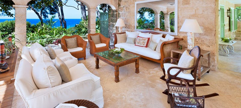 Seating Area at Fustic House, St Lucy Barbados