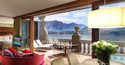 Suite terrace at Grand Hotel Tremezzo, Lake Como