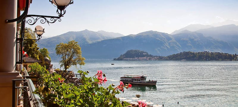 Views from Grand Hotel Tremezzo, Lake Como