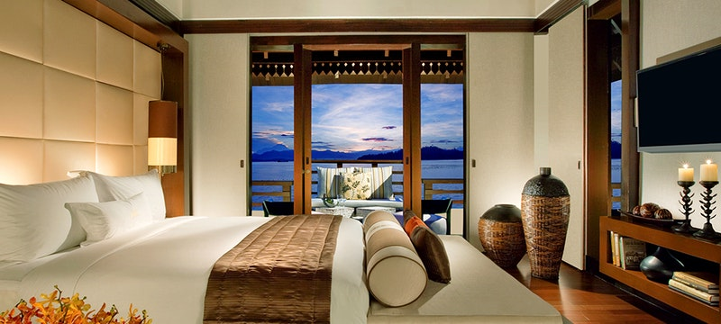 Kinabalu Guest Room at Gaya Island Resort