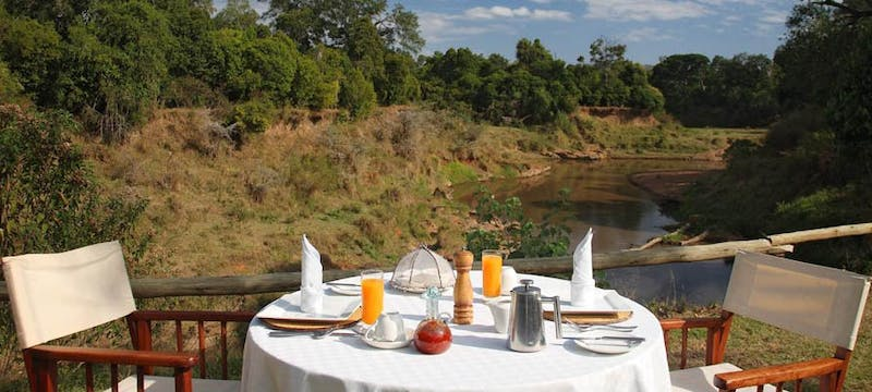 Restaurant at Governors' Il Moran Camp, Kenya
