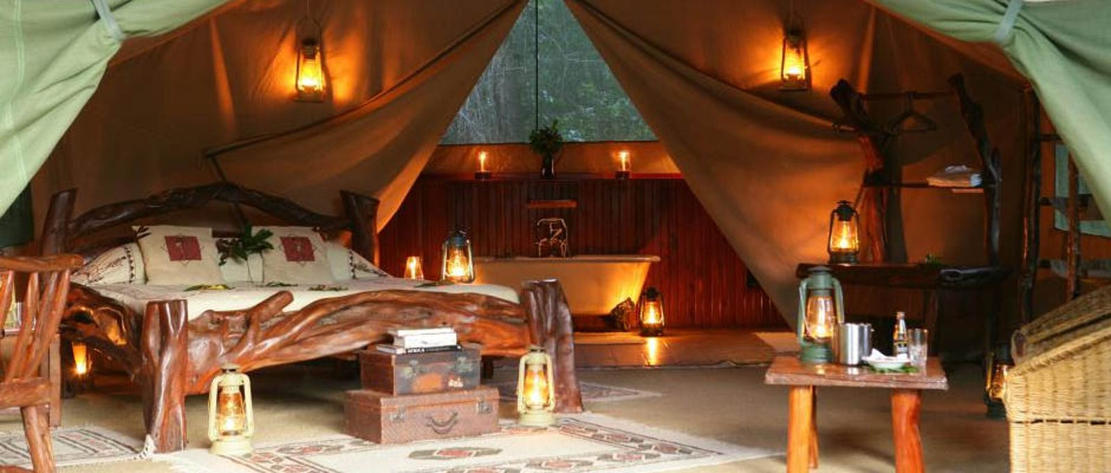 Luxury En-suite at Governors' Il Moran Camp, Kenya