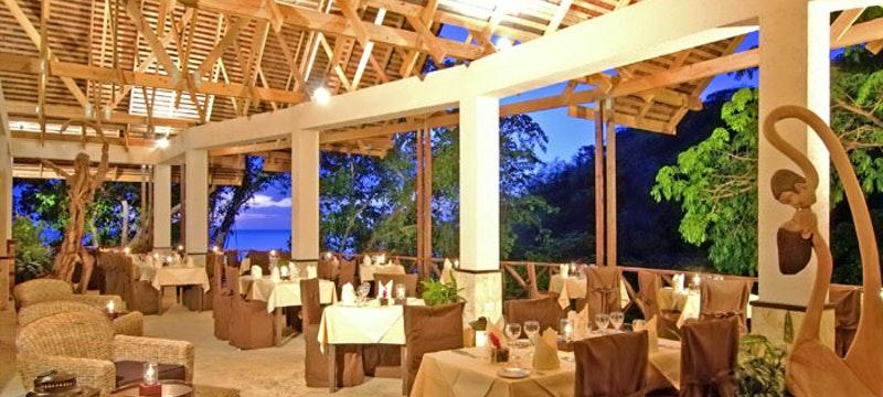 Restaurant at Anse Chastanet, St Lucia