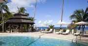 Relax by the pool at Blue Waters, Antigua
