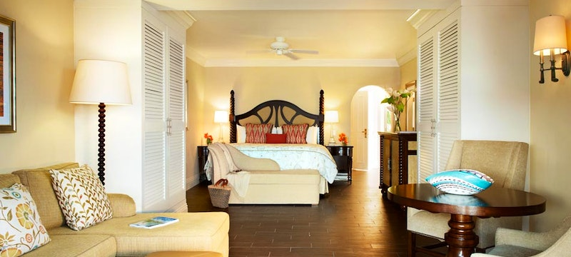 Beachfront Junior Suite at The Fairmont Royal Pavilion, Barbados