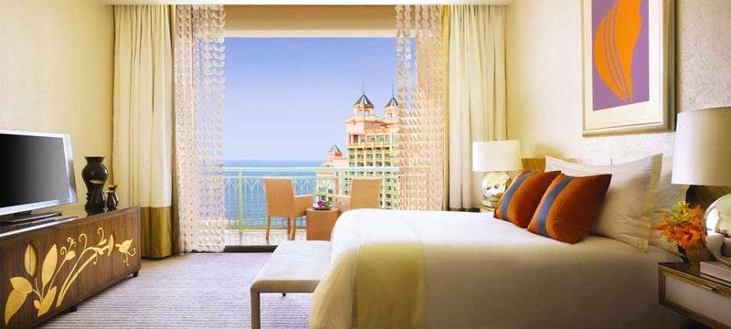 Guest room at Atlantis, Bahamas