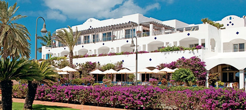 The floral exterior of CuisinArt, Anguilla