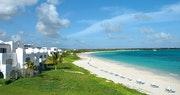 The stunning beach views at CuisinArt, Anguilla