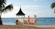 Beautiful beach area at Royal Villas at Half Moon
