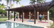 Fitness center at Royal Villas at Half Moon