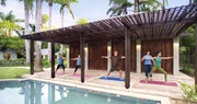 Fitness center at Royal Villas at Half Moon