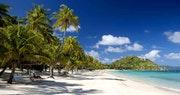 Beautiful shoreline at Peter Island Villa Estates, British Virgin Islands
