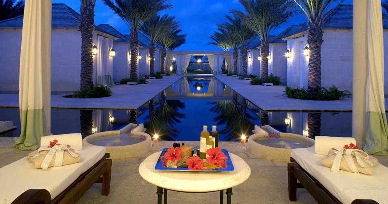 Decadent dining at The Regent Palms Turks & Caicos