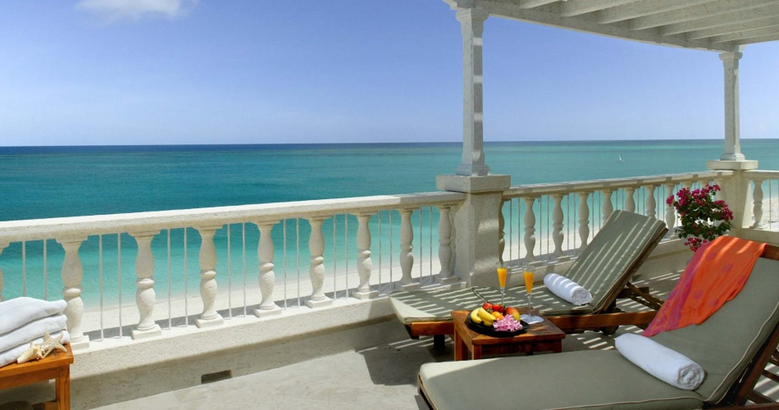 Lounging at The Regent Palms Turks & Caicos