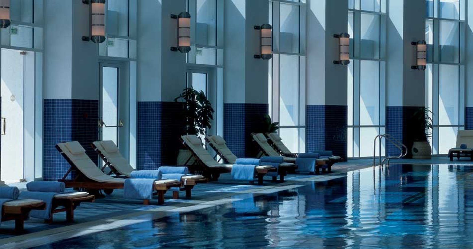 Pool Lounge at The Ritz-Carlton Doha