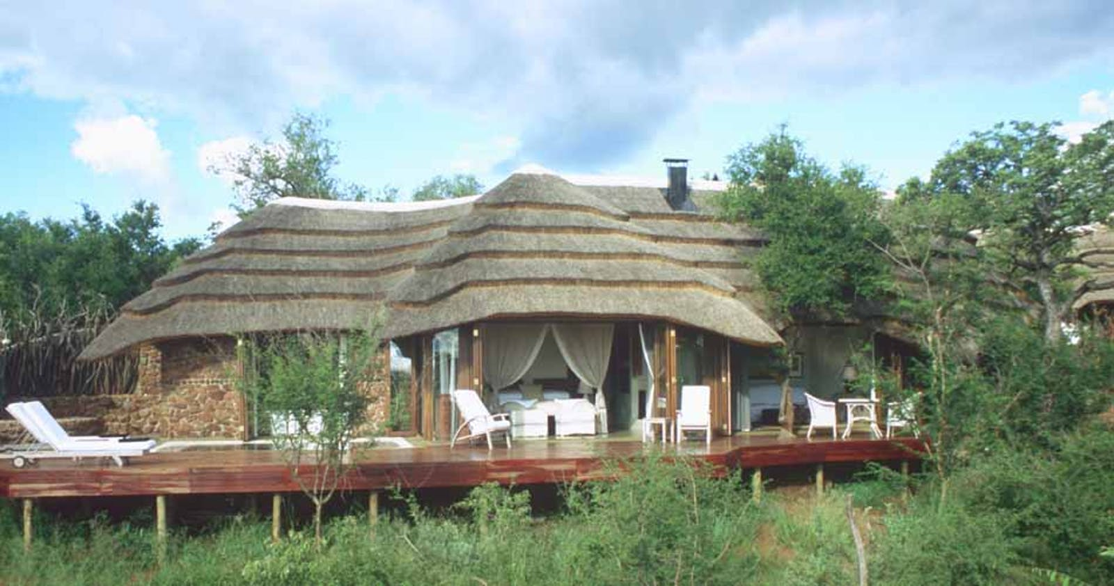 Exterior View of Villa at Madikwe Hills Madikwe Game Reserve