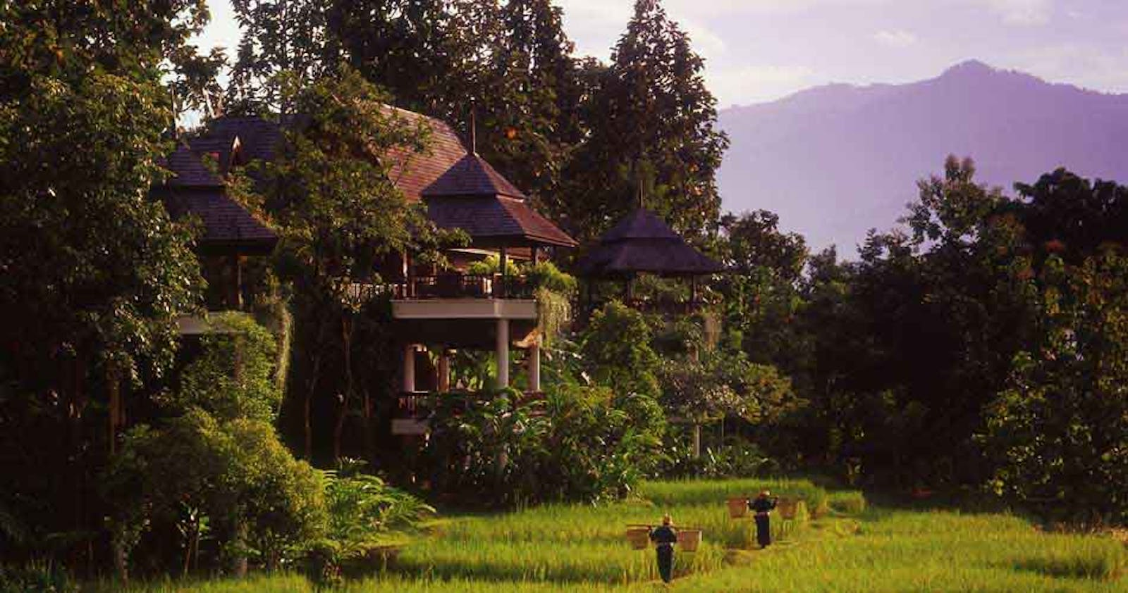 Exterior of Four Seasons Resort Chiang Mai