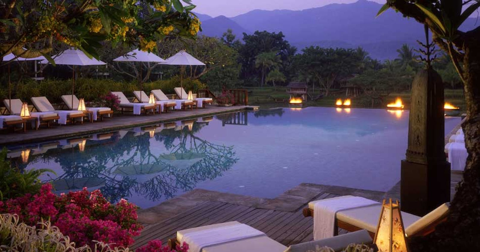 Pool at Four Seasons Resort Chiang Mai