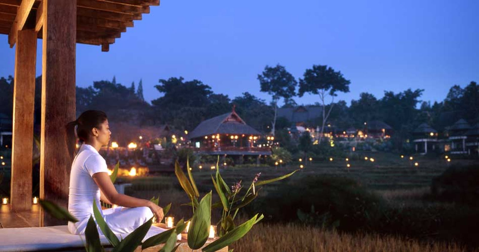 Relaxing at Four Seasons Resort Chiang Mai