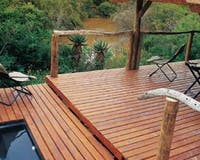 Balcony at Shamwari Game Reserve Port Elizabeth